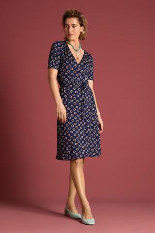 Mandy Wrap Dress Capitan