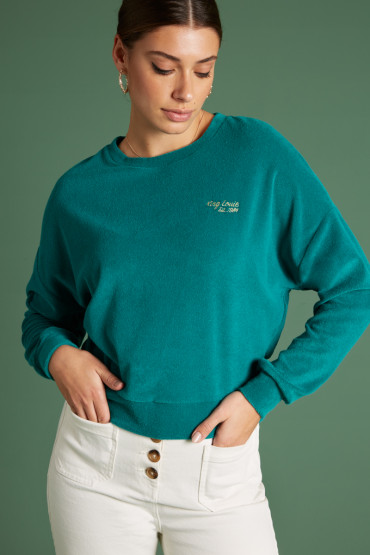 Valentina Sweater Terry Towel