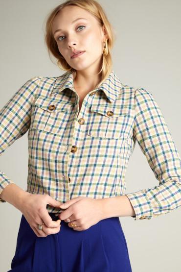Elisa Jacket Maverick Check