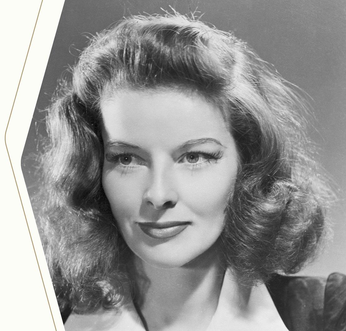 King Louie's icon: Katharine Hepburn