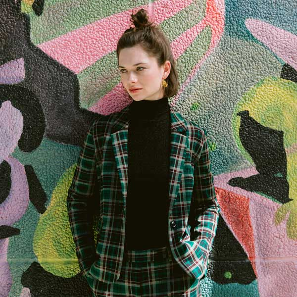Shop the Look Daisy Blazer Rodeo Check AW19